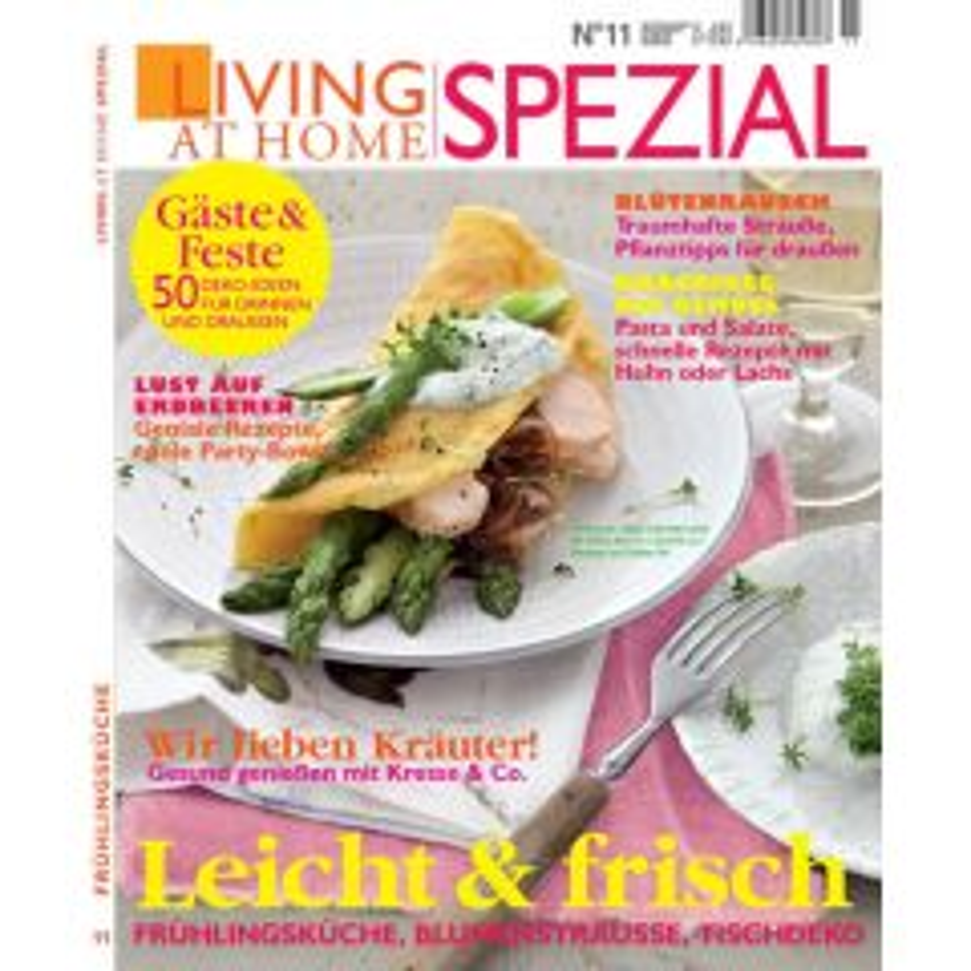 Living at Home Spezial 11/2013 - Leicht & frisch