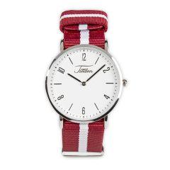 Armbanduhr Rot-Weiß