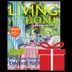 Geschenkabo Anzeige Living at Home