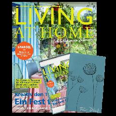 Living at Home Geschenkabo mit Geschenkbox